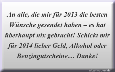 Neujahrswünsche 2013